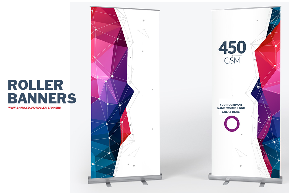 Roller Banner POP//Pull up Exhibition Display Stands Trade Price Next Day Delivery 800mmx2000mm